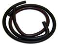70 AUTOLITE HEATER HOSE WITH 90 DEGREE BEND- RED-STRIPE WITH AIR CONDITIONING-BUILT BEFORE 2/1/70