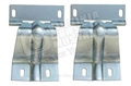 69-70 FASTBACK REAR TRAP DOOR HINGES-PAIR