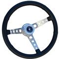 65-67 Mustang GT Retro Leather Steering Wheel Assembly