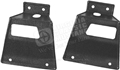 67-68 Mustang Fastback Rear Seat Latch Cover - Use with Folddown Rear Seat - Pair