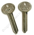 67-73 PONY TRUNK KEY BLANK