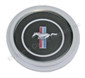 70 3 SPOKE STEERING WHEEL EMBLEM ONLY