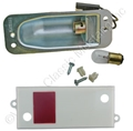 67-68 DELUXE DOOR LIGHT ASSEMBLY