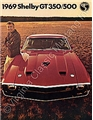 69 SHELBY COLOR SALES BROCHURE