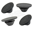 65 GT350 MUSTANG RUBBER BATTERY APRON PLUGS - SET OF 4