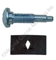 65-68 ACCELERATOR PEDAL BOLT AND RETAINER