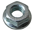 65-70 5/16 INCH FLANGE NUT ONLY - EACH BRIGHT ZINC PLATED