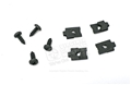 65-67 Deluxe Door Panel Bracket To Door Screws and Clips (does both sides)
