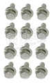 65-70 SMALL BLOCK STEEL VALVE COVER BOLT SET (EXACT)