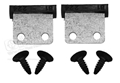69-70 MUSTANG WINDSHIELD STOPS WITH SCREWS - SET OF 2