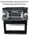 67-73 Mustang AM/FM Stereo with built in Bluetooth