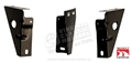 67-68 RADIATOR SUPPORT TO GRILL BRACKETS- SET OF 3