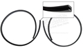65-73 QUARTER EXTENSION GASKETS/ 67-70 HEADLIGHT BUCKET ASSEMBLY GASKETS-PAIR
