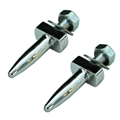 65-68 Convertible Top Frame Front Dowel Alignment Pin Set - Set of 2