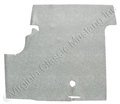 69-70 FASTBACK SPLATTER RUBBER TRUNK MAT