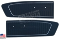 65 Mustang Standard Door Panels - Pair