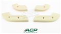 68-70 Mustang Seat Hinge Covers - Set of 4 - Neutral Color