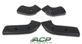 68-70 Mustang Seat Hinge Covers - Set of 4 - Black