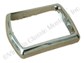 68-69 CHROME DELUXE SEAT BELT BUCKLE BEZEL- EACH