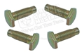 65-66 REAR SEAT BELT BOLT SET (4 BOLTS)