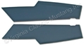 71-73 FASTBACK INTERIOR QUARTER/SAIL HEADLINER PANELS-PAIR