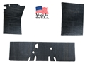65-73 Mustang Coupe and Fastback Underlayment / Sound Deadener / Heat Barrier Set