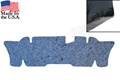 65-70 Mustang Sound Deadener /Heat Barrier / Underlayment - Coupe and Convertible Under Rear Seat