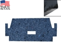 65-70 Mustang Sound Deadener / Heat Barrier / Underlayment  - Fastback - Transition area from rear seat to trunk area
