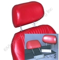 65-67 ADJUSTABLE HEADREST KIT-FITS OUR SPORT SEATS   *INDICATE COLOR*