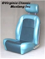 67 STYLE SPORT SEAT UPHOLSTERY AND FOAM SET- COUPE-COMPLETE SET *INDICATE COLOR*