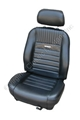 65-66 PONY SPORT SEAT UPHOLSTERY AND FOAM KIT FASTBACK-COMPLETE SET  *INDICATE COLOR*