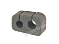 65-66 POWER STEERING HOSE RUBBER INSULATOR BLOCK
