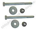 66-67 EXACT REAR LEAF SPRING BOLTS (PAIR)