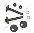 67-73 LOWER CONTROL ARM MOUNTING KIT (EXACT)
