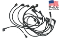 67 289 WITH SMOG PUMP SPARK PLUG WIRE SET