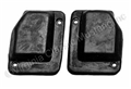 69-70 FASTBACK QUARTER PILLAR SEALS-PAIR