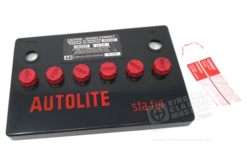 AUTOLITE GROUP 24 BATTERY COVER ONLY
