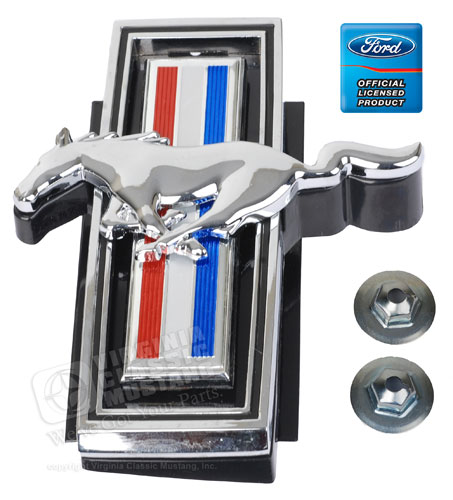 69 RUNNING HORSE GRILL ORNAMENT