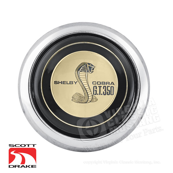 67 GT350 Horn Button Center Cap for Steering Wheel