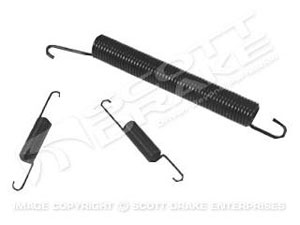 65-70 SEAT TRACK 3 PIECE SPRING SET (DOES ONE SIDE)