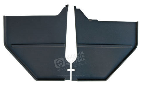 65-66 COUPE/FASTBACK KICK PANELS *INDICATE COLOR*
