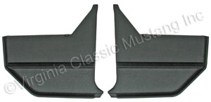 67-68 CONVERTIBLE KICK PANELS-PAIR *INDICATE COLOR*
