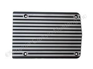 FINNED ALUMINUM AIR CONDITIONING COMPRESSOR COVER -PLAIN-MATTE FINISH FINS