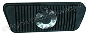 68-73 DISC AUTOMATIC TRANSMISSION BRAKE PEDAL PAD
