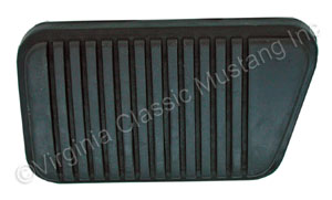 65-73 MANUAL BRAKE STANDARD TRANSMISSION BRAKE PEDAL PAD