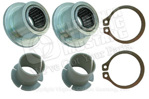 65-70 BRAKE AND CLUTCH PEDAL SUPPORT REPAIR KIT WITH ROLLER BEARINGS