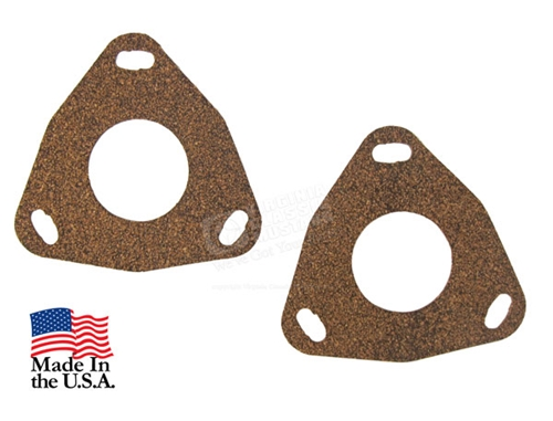 68-73 Front Spindle to Brake Splash Shield Gaskets - Pair