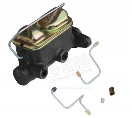 65-66 Mustang Dual Reservoir Master Cylinder Conversion Kit