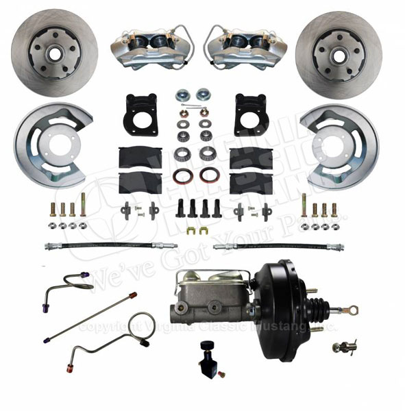 71-73 Mustang Front Power Disc Brake Conversion Kit