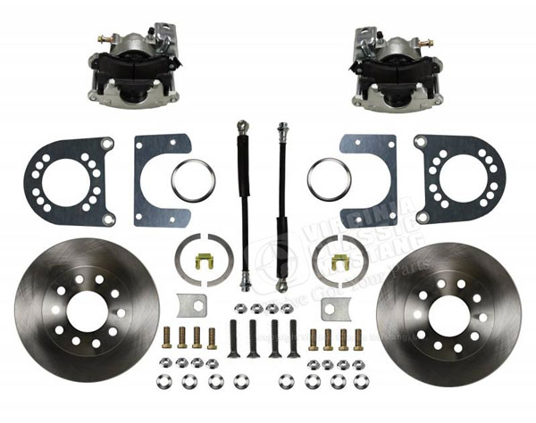 65-73 REAR DRUM TO DISC CONVERSION KIT 28 SPLINE REAR      V8 ONLY